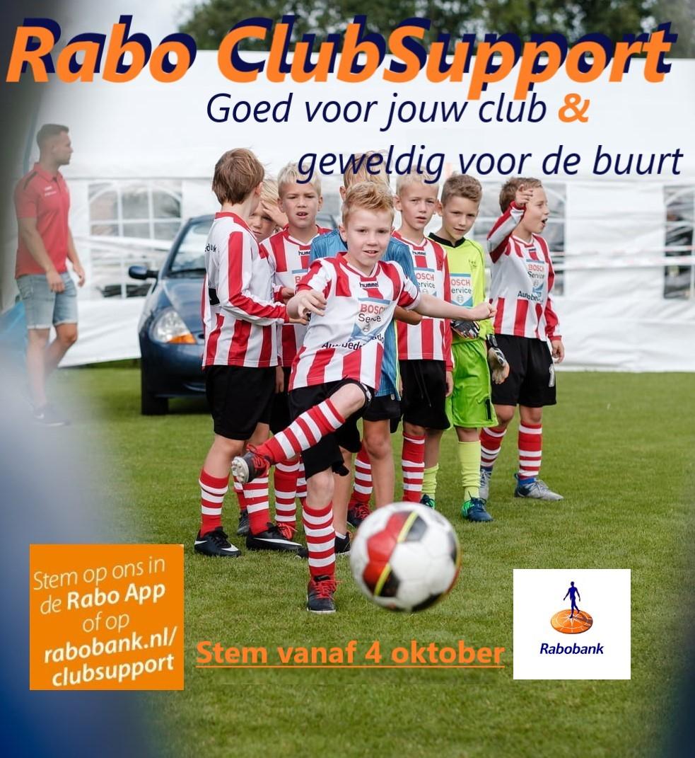 Zwaluwe doet weer mee met Rabo ClubSupport!